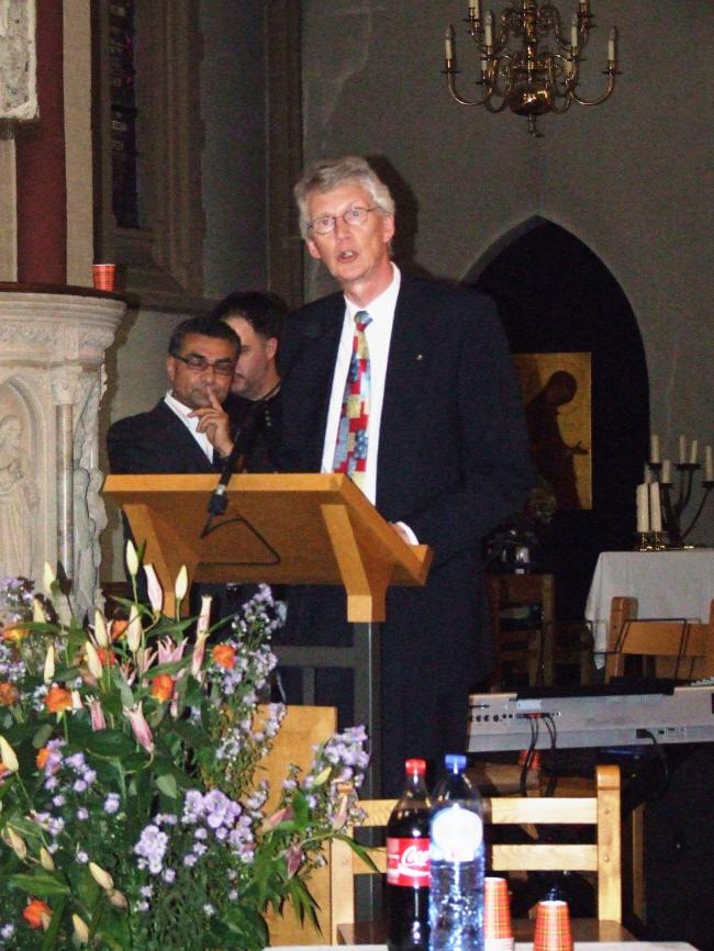 Diaken Pier Tolsma over de Sint Agnes Kerk